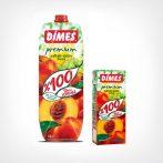 Dimes Prémium Őszibarack- és szőlőlé 100% 1000 ml