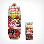 Dimes Prémium Vegyes gyümölcslé piros gyümölcsökből 100% 1000 ml