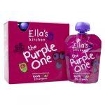 Ella's Kitchen The Purple One bio lila gyümölcsös püré multipack 5x90 g