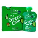 Ella's Kitchen The Green One bio zöld gyümölcsös püré multipack 5x90g