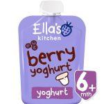 Ella's Kitchen Bio Görögjoghurt erdeigyümölcsös bébiétel 90 g
