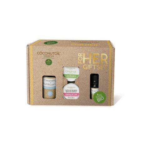 Coconutoil Cosmetics For Her női ajándékcsomag 1db