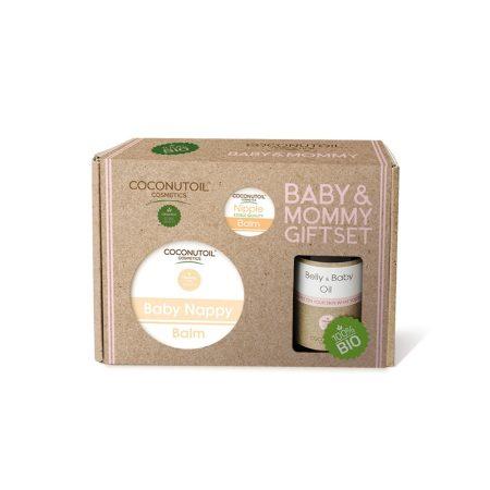 Coconutoil Cosmetics Baby & Mommy Ajándékcsomag 1db