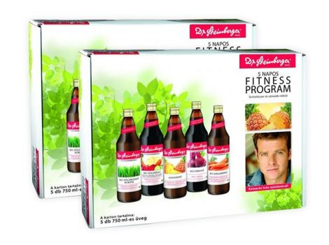 Dr. Steinberger DUO 5 napos fitness program 2x5x750 ml