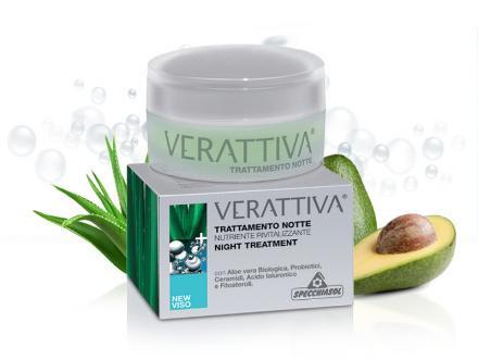Specchiasol® Verattiva® Baktériumos, Öregedés elleni tápláló